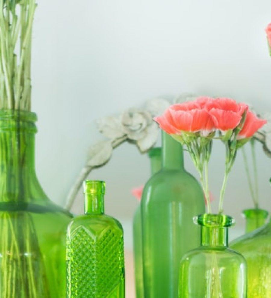 3 רעיונות יצירתיים לשימוש חוזר בבקבוקי בישום מזכוכית!
